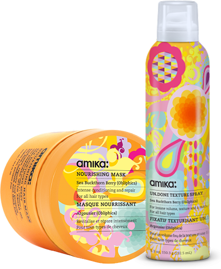 Amika products at Salon Bumbi in Elkins, WV