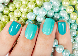 Basic, Acrylic and Gel manicures available at Salon Bumbi in Elkins, WV